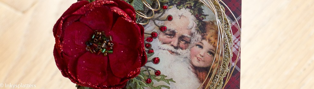 Vintage Merry Christmas - banner