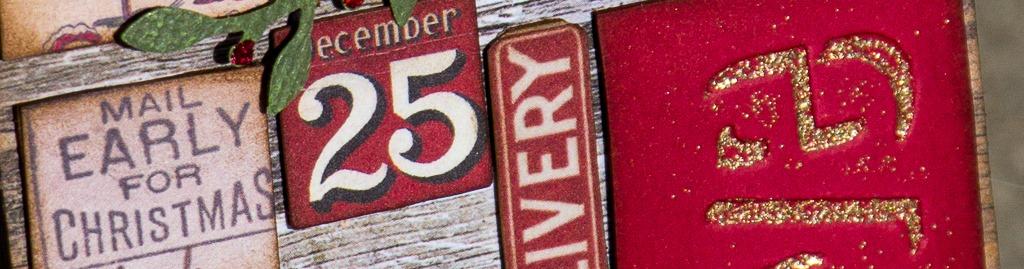 Xmas tag five banner