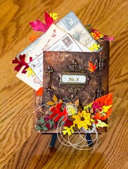 Autumn Mailbox - complete