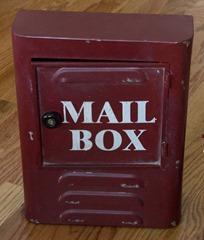 Autumn Mailbox - original