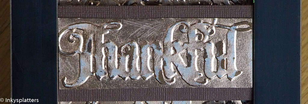 Thankful for Harvest - banner