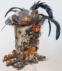 Flowered Halloween hat (1 of 4)