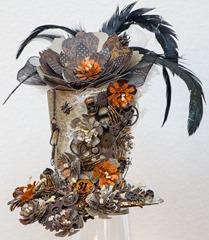 Flowered Halloween hat (1 of 4)