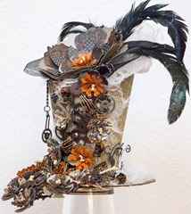 Flowered Halloween hat (2 of 4)