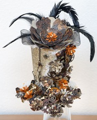 Flowered Halloween hat (3 of 4)