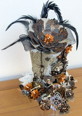 Flowered Halloween hat (4 of 4)